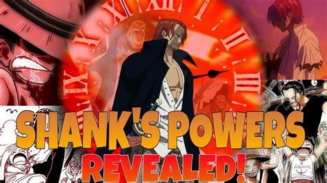 Shanks one piece powers revealed !   Red haired Shanks