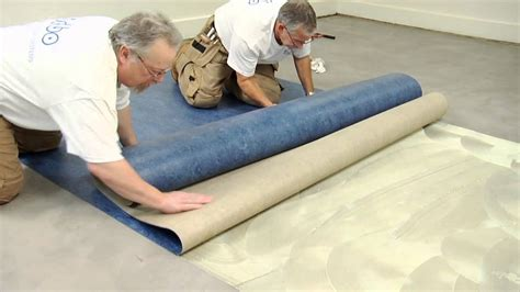 Forbo Marmoleum Sheet Installation Video - YouTube