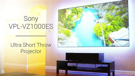 Sony HDR Ultra Short Throw Projector VPL-VZ1000ES and Zero
