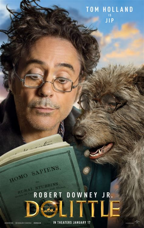 Dolittle new character posters introduce the animal line