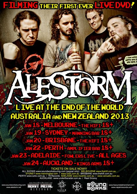 Alestorm: Live at the End of the World Tour (Live DVD