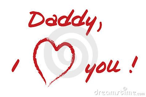 Daddy I Love You Stock Photo - Image: 2315910