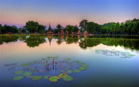 Sukhothai Historical Park Thailand Wallpapers | HD