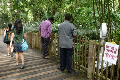 Outdoor Comfort with Dry Mist at Mandai Zoo   Transsolar
