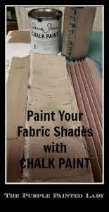 Painting Fabric Accordion Blinds with Chalk Paint® | The