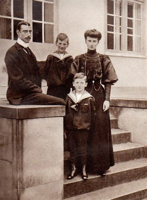 King Christian X and Queen Alexandrine of Denmark with