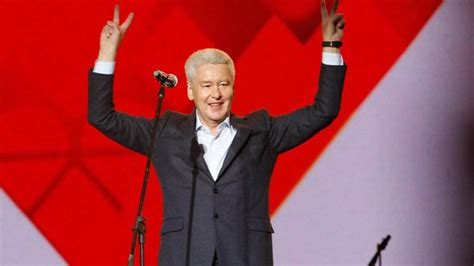 Moscow Adores Sergei Sobyanin — At Least That's What City