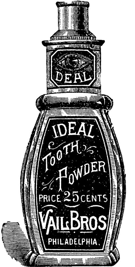 Free Vintage Images - Old Bottles - Toiletries - The