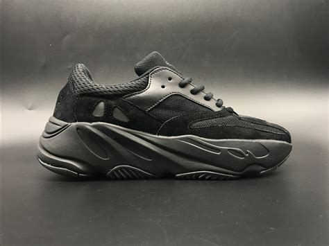 adidas Yeezy Boost Wave Runner 700 Triple Black For Sale