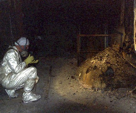 The Elephant's Foot of the Chernobyl disaster, 1986 – Rare