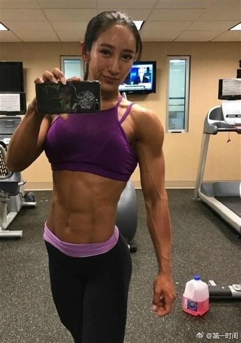 China's first female bodybuilding world championship at