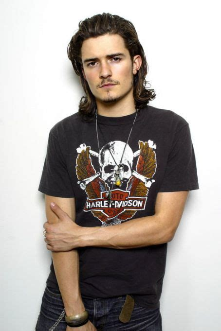 Orlando Bloom, male actor, long hair style, hottie, celeb