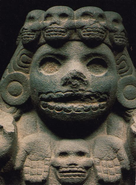 Mictecacihuatl, Queen of Mictlan   The Image and the Death