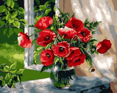Diy oil painting by numbers adult painting calligraphy by