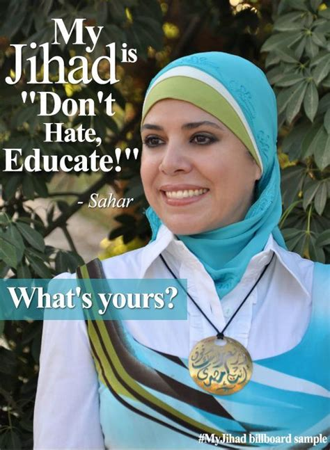 #MyJihad billboard sample | Campaign posters, Im so fancy