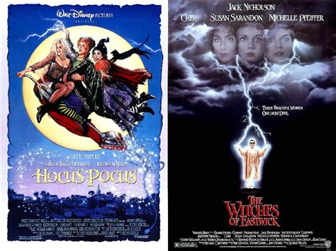 Double Feature: Hocus Pocus & The Witches of Eastwick