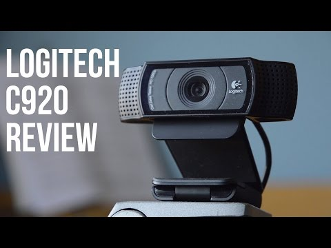 How to Select an Audio Source for Logitech C920 on Webcam