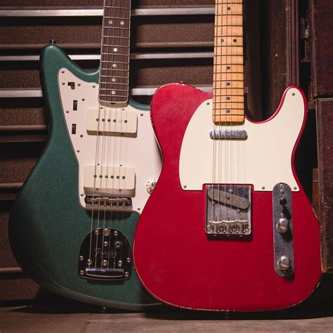 Our CME Exclusive Jazzmaster in Sherwood Green and Road
