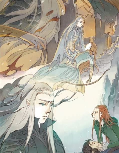 The Story of Thranduil, Legolas and his wife Part 5