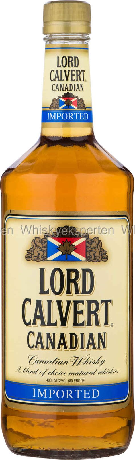 Lord Calvert Canadisk Whisky