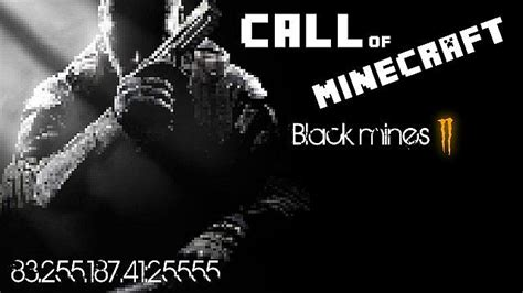 Black Mines 2 (BO2 Zombies) Minecraft Server