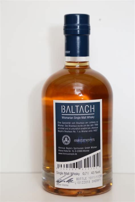 Baltach 03-year-old - Ratings and reviews - Whiskybase