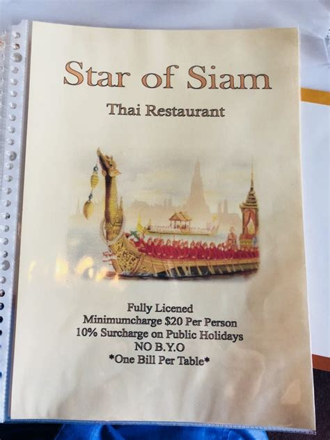 STAR OF SIAM » Heads Up Launceston & Food Guide