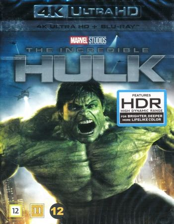 Incredible Hulk - 4K Ultra HD Blu-ray + Blu-ray - Blu-ray