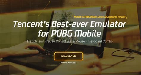 Download: PUBG Mobile Official Emulator For PC Released