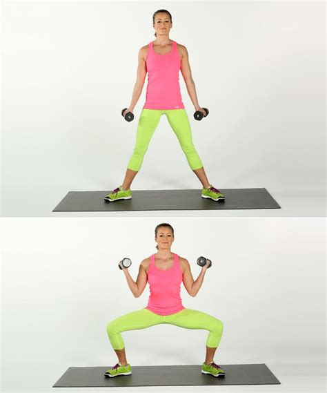 Sumo Squat With Bicep Curls | Best Dumbbell Arm Exercises