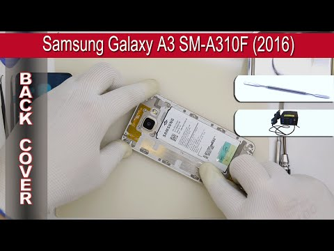 Samsung Galaxy A3 (2016) How to Open and change