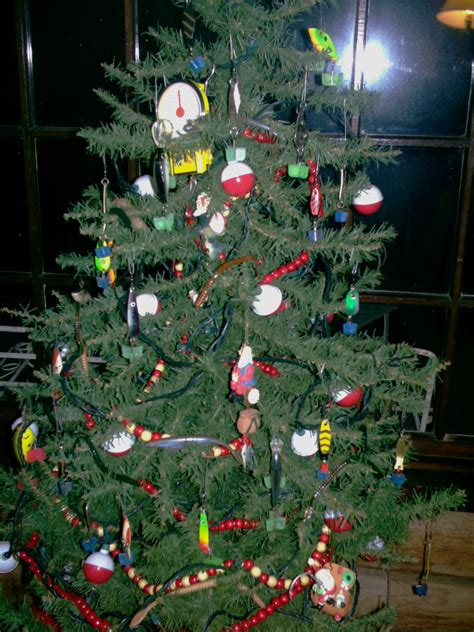 Fishing themed Christmas Tree - The Hull Truth - Boating