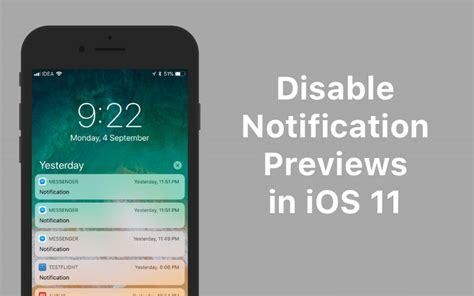 How to Disable Notification Previews for All Apps on