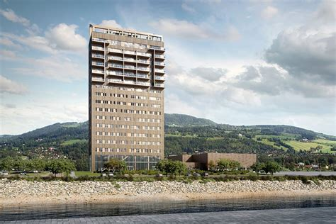 The world's tallest wooden tower is being built in Norway