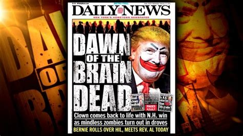 Trump Slams 'Worthless' New York Daily News After It