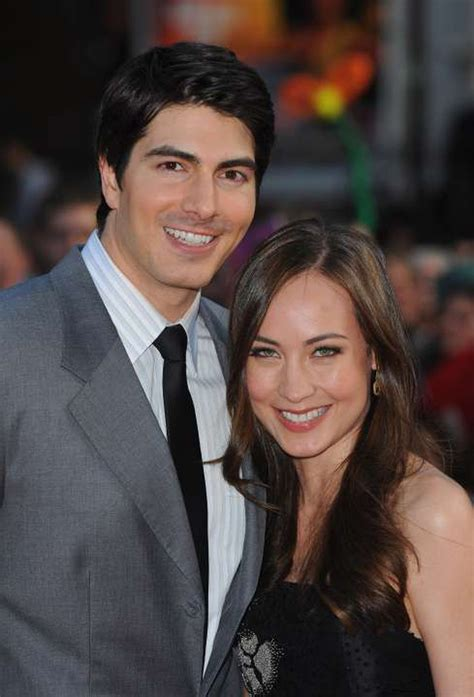 'Superman Returns' actor Brandon Routh, wife Courtney Ford