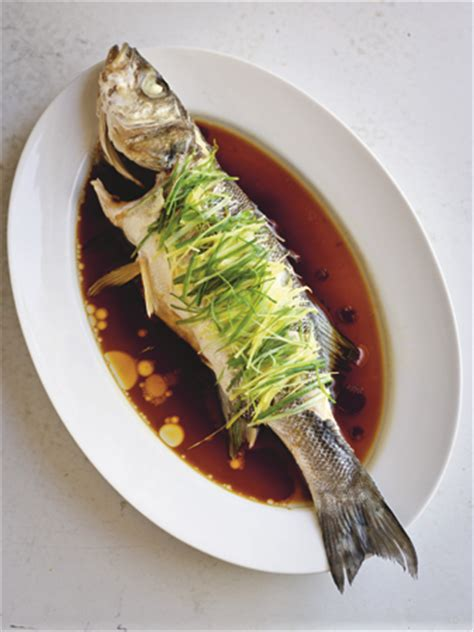 Chinese New Year Recipe: Steamed Sea Bass with Ginger and