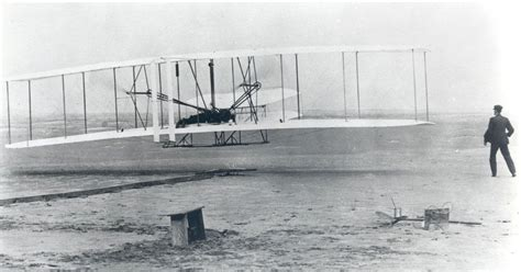 Space History Photo: The Wright Brothers First Heavier