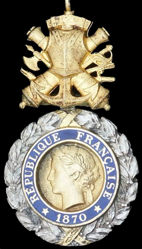 French War Medals : Medaille Militaire Military Medal