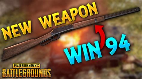 NEW Weapon Win94 (Winchester) is OP