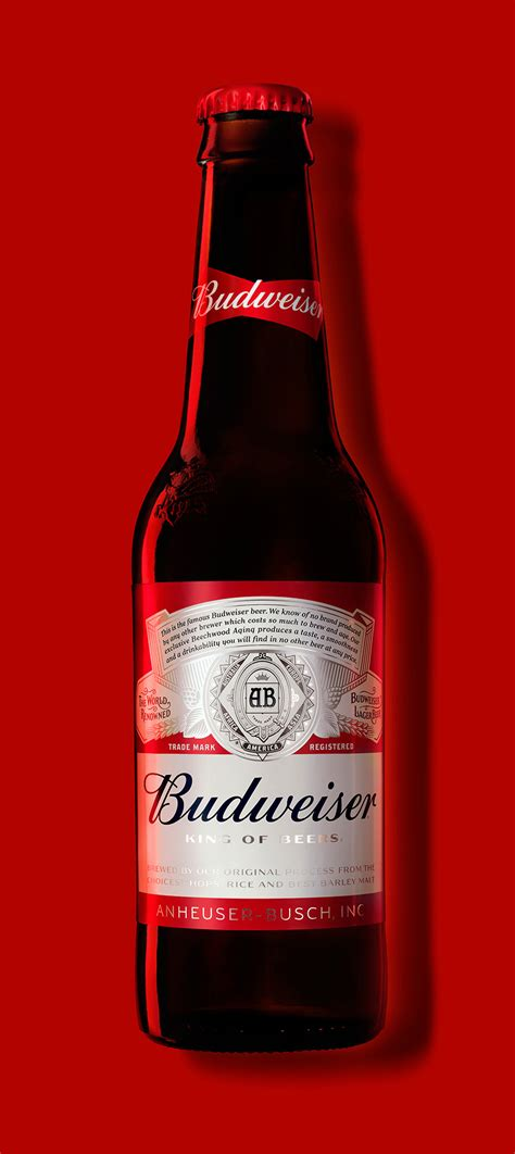 Brand New: New Logo and Packaging for Budweiser by Jones