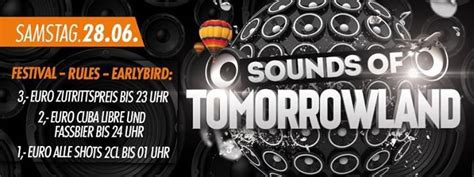 Party - SOUNDS OF TOMORROWLAND - Musikpark Erfurt in
