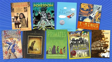 Powerful Graphic Novels for Middle School | Edutopia