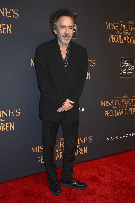 Tim Burton's disappointing response when asked about lack