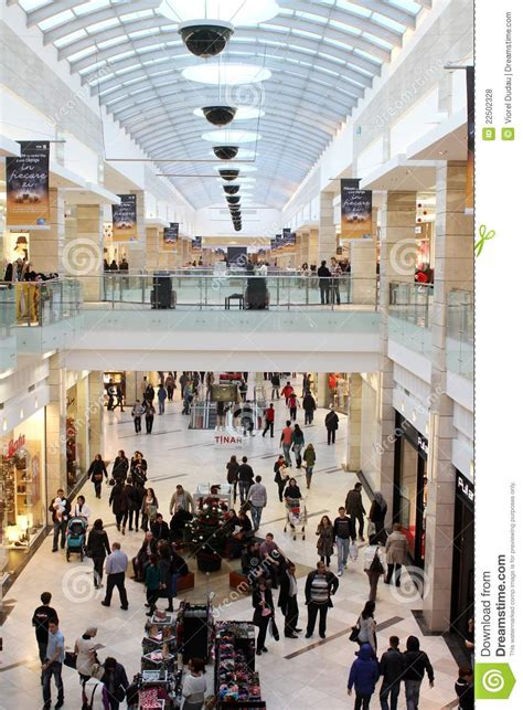 Busy Mall Editorial Stock Photo - Image: 22502328