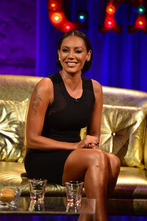 The X Factor 2014: Mel B doodles vibrators during the live