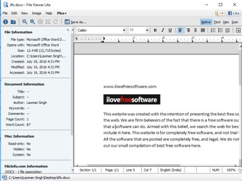 5 Free DOCX Viewer Software for Windows 10