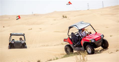Dubai: Self-Drive Dune Buggy Safari with Pickup and Drop