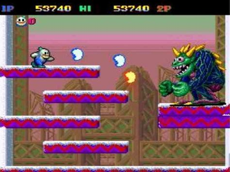 Snow Bros Game Download Free For PC Full Version
