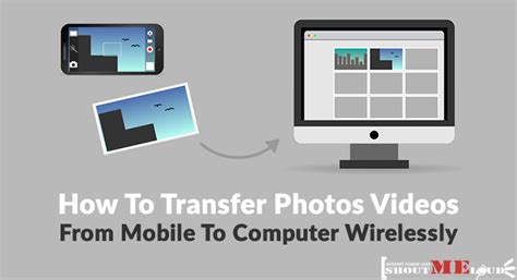 How To Transfer Photos Videos from Mobile To Computer